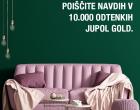 Inšpirujte sa s viac ako 10 000 odtieňmi JUPOL Gold